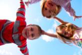 børn flyvende